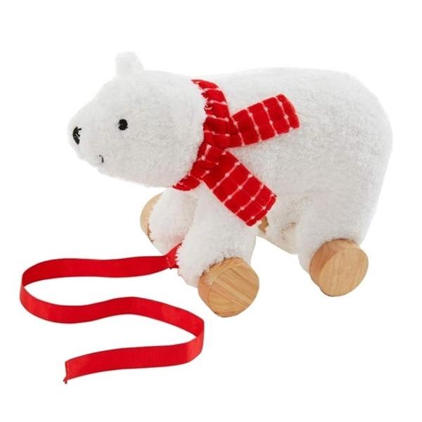 Bizzi Growin Υφασμάτινη Τρεχαλίτσα Polar Bear