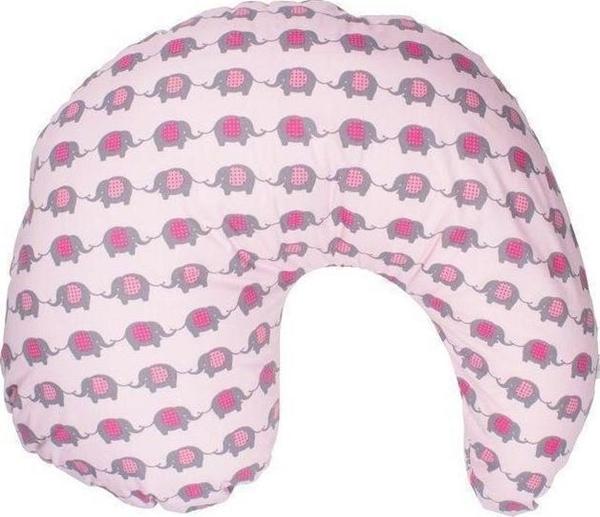 Dr. Browns Μαξιλάρι Θηλασμού Gia Με Κάλυμμα White Dots + ΔΩΡΟ Κάλυμμα Elephants Pink