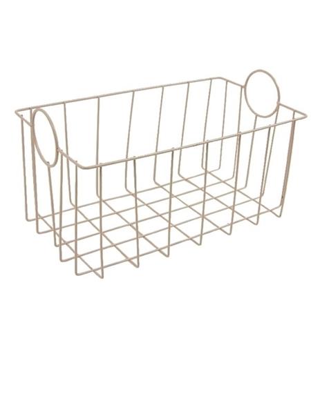 Minene Metal Basket Pink