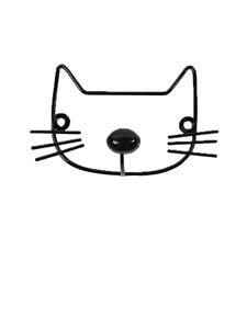 Minene Μεταλλική Κρεμάστρα Τοίχου Γάτα