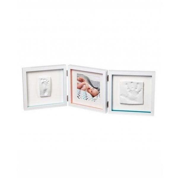 Baby Art Κορνίζα με Αποτύπωμα My Baby Touch 2 Cast White