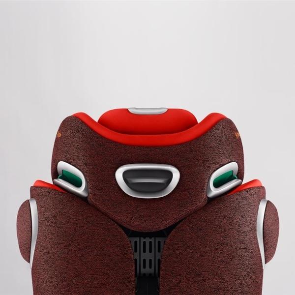 Cybex Παιδικό Κάθισμα Αυτοκινήτου Solution Z i-Fix Soho Grey 15-36kg.
