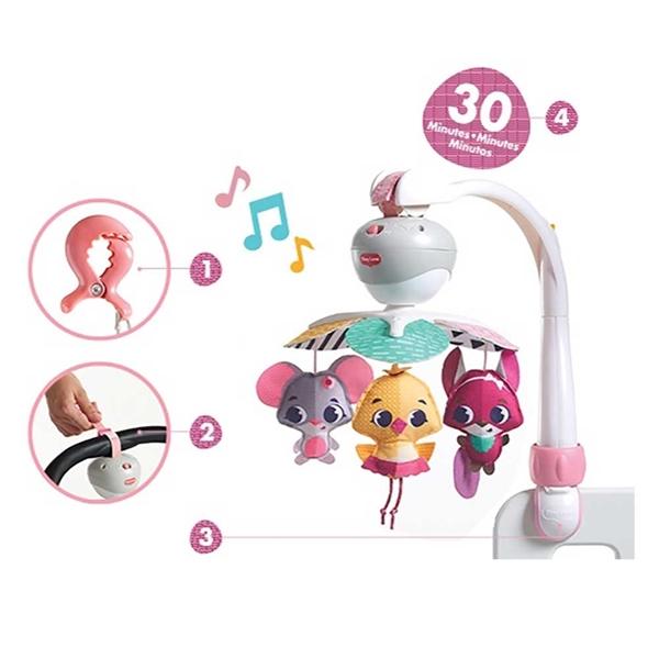 Tiny Love - Μουσικό Mobile Take-Along 3in1 Princess Theme