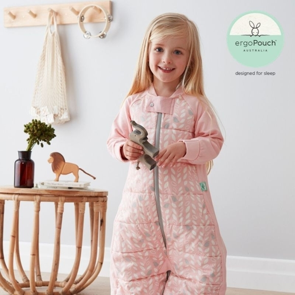 ergoPouch Sleep Suit Υπνόσακος βρεφικός 2 σε 1 2.5 tog 8-24 μηνών Spring Leaves