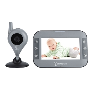 TimeFlys Ενδοεπικοινωνία με Camera Baby Monitor C240B