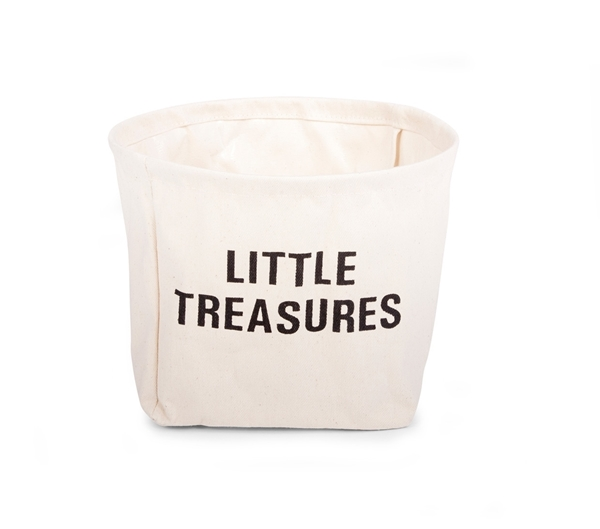 Childhome Κουτί Αποθήκευσης Βαμβακερό Little Treasures