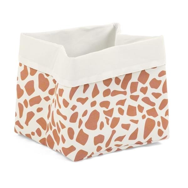 Childhome Κουτί Αποθήκευσης Καμβάς Ecru Giraffe