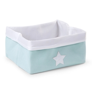 Childhome Κουτί Αποθήκευσης Καμβάς Mint White