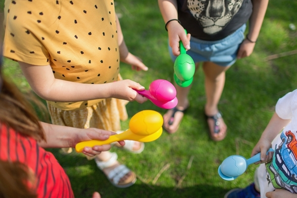 BS Πάρτι με αυγά (Egg Party)