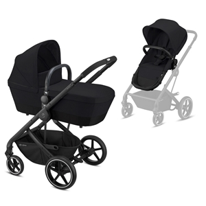 Cybex Καρότσι Balios S 2in1, Deep Black
