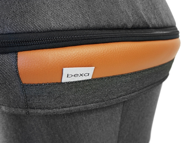 Bexa Καρότσι 2 σε 1 Line 2.0 Dark Grey