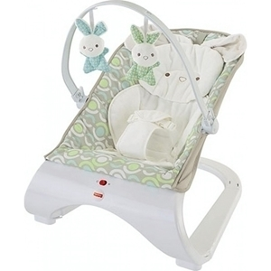 Fisher Price Comfort Curve Deluxe Καθισματάκι Ρηλάξ Λαγουδάκι