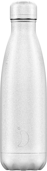 Chillys Θερμός Για Υγρά Glitter White 500ml