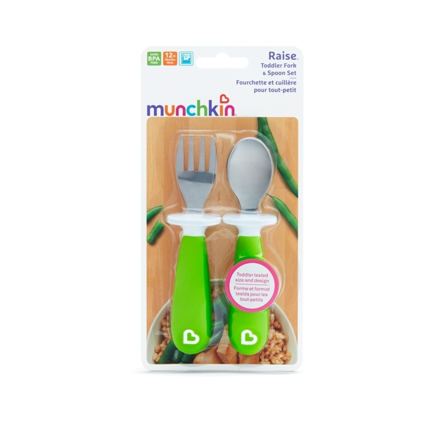 Munchkin Μαχαιροπήρουνα Raise Toddler - Πράσινο