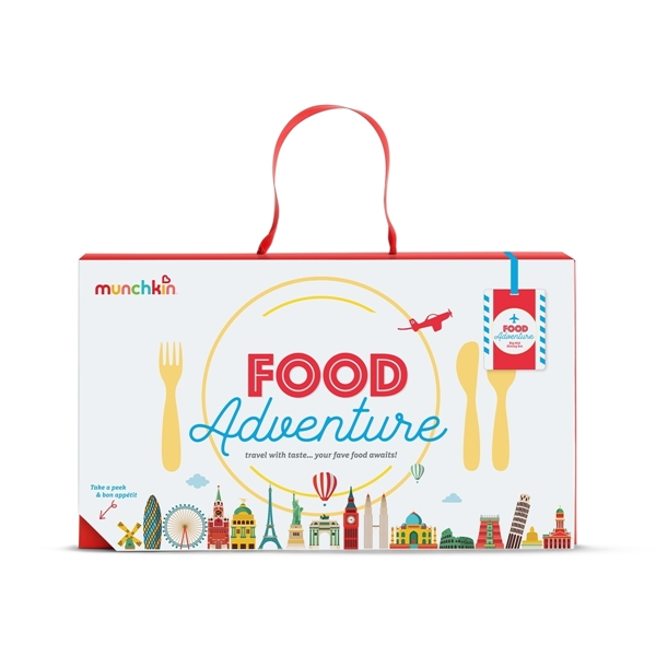 Munchkin Παιδικό Σετ Φαγητού Food Adventure Big Kid