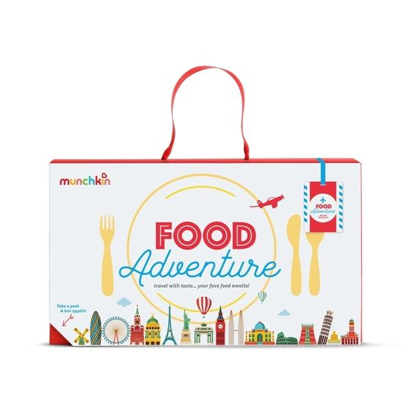 Munchkin Παιδικό Σετ Φαγητού Food Adventure Big Kid Purple