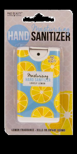 Mad Beauty Απολυμαντικό και Ενυδατικό Χεριών σε Σπρέι - Lemon