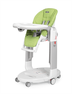 Peg Perego Καρεκλάκι Φαγητού Tatamia Follow Me, Wonder Green