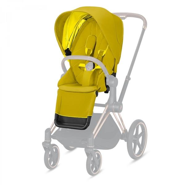 Cybex Κάθισμα Καροτσιού Priam Seat Pack, Mustard Yellow