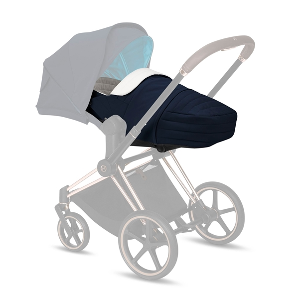 Cybex Μαλακό Πορτ Μπεμπέ Lite Cot Platinum Edition, Nautical Blue