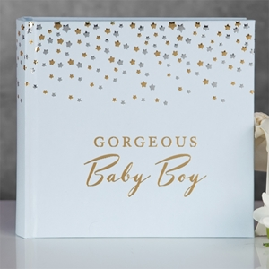 Bambino Little Stars Photo Album Gorgeous Baby Boy