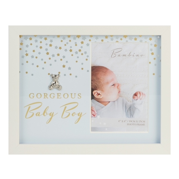 Bambino Little Stars Photo Frame Gorgeous Baby Boy