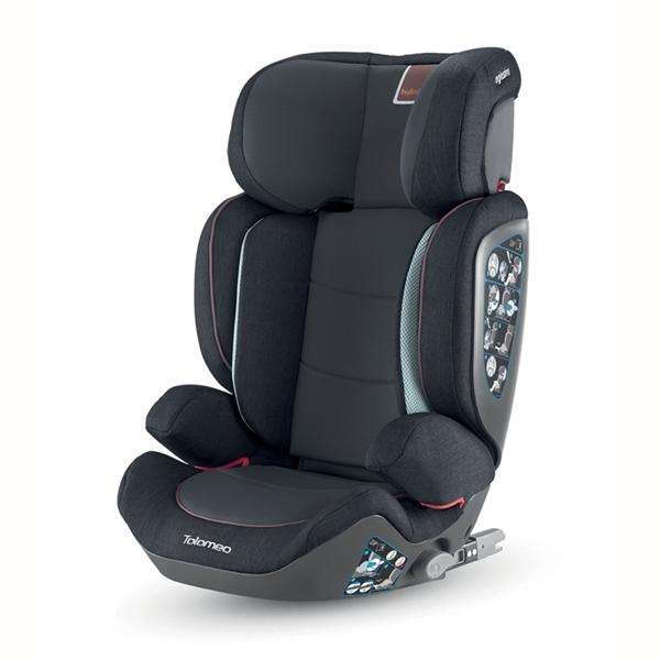 Inglesina Παιδικό Κάθισμα Αυτοκινήτου Tolomeo I-Fix 15-36kg. Black