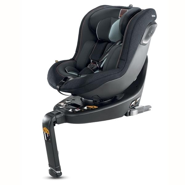 Inglesina Κάθισμα Αυτοκινήτου Keplero I-Size 360° 0-18 kg. Black