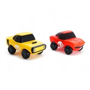 Munchkin Παιδικό Παιχνίδι Μπάνιου Magnet Motors Κόκκινο+Κίτρινο