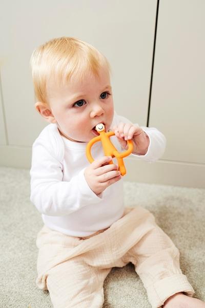 Matchstick Monkey Μασητικό Oδοντοφυΐας - Orange