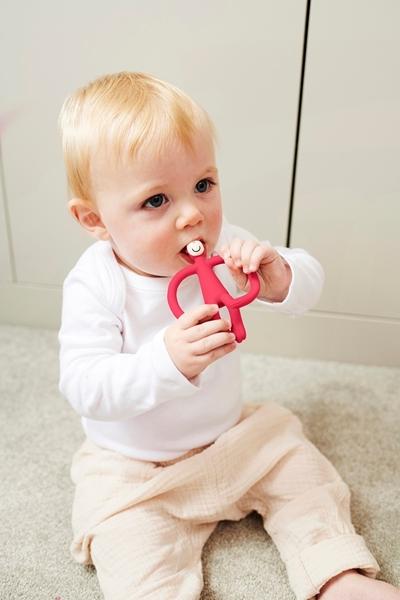 Matchstick Monkey Μασητικό Oδοντοφυΐας - Pink