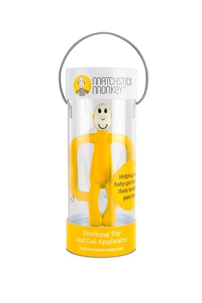 Matchstick Monkey Μασητικό Oδοντοφυΐας - Yellow