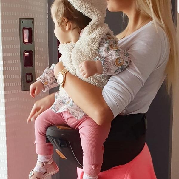 Babyboo® Κάθισμα Μέσης MyHipSeat™ Brown