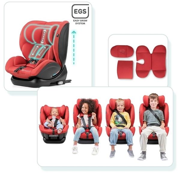 Kinderkraft Κάθισμα Αυτοκινήτου MyWay IsoFix 0-36kg - Red