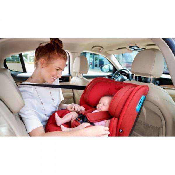 Kinderkraft Κάθισμα Αυτοκινήτου Vado IsoFix 0-25kg - Grey