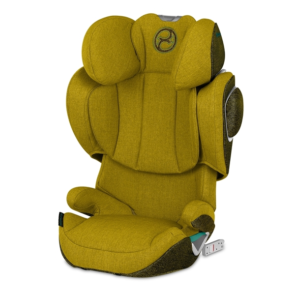 Cybex Κάθισμα Αυτοκινήτου Solution Z i-Fix Mustard Yellow 15-36kg.