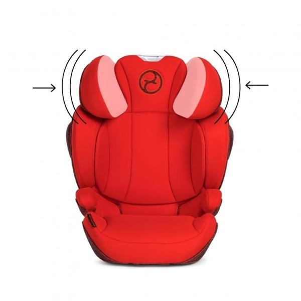 Cybex Κάθισμα Αυτοκινήτου Solution Z i-Fix Autumn Gold Plus 15-36kg.