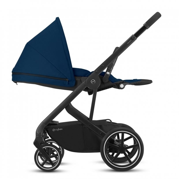 Cybex Βρεφικό Καρότσι Balios S Lux, River Blue (Silver Frame)