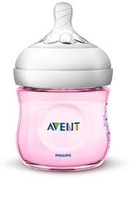 Philips Avent Natural μπιμπερό 125ml, Pink