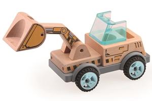 BS Toys Construction Cars – Αυτοκινητάκια Οικοδομής - Μπουλντόζα
