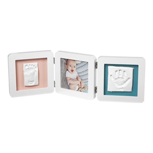 Baby Art Κορνίζα με Αποτύπωμα My Baby Touch Double White
