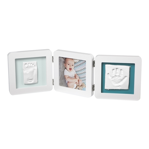 Baby Art Κορνίζα με Αποτύπωμα My Baby Touch Double White