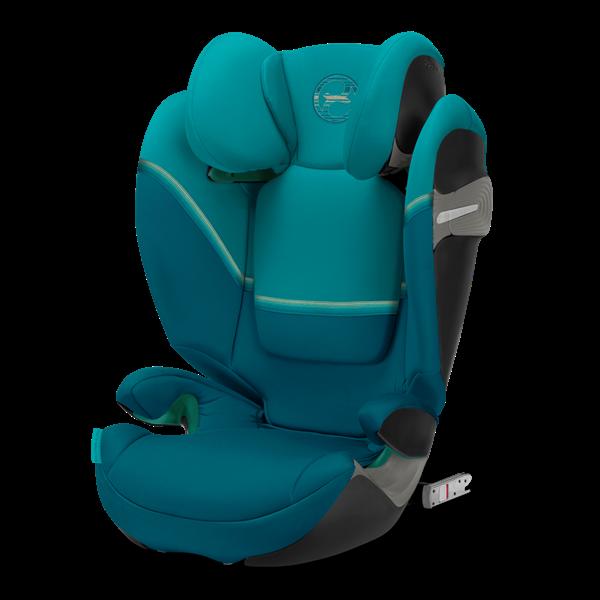 Cybex Παιδικό Κάθισμα Solution S i-Fix, 15-36 kg. River Blue