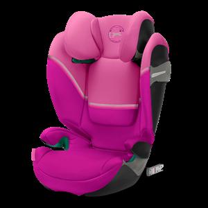 Cybex Παιδικό Κάθισμα Solution S i-Fix, 15-36 kg. Magnolia Pink