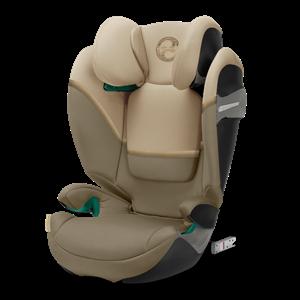 Cybex Παιδικό Κάθισμα Solution S i-Fix, 15-36 kg. Classic Beige