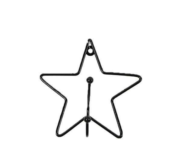 Picture of Minene Μεταλλική Κρεμάστρα Τοίχου Αστέρι