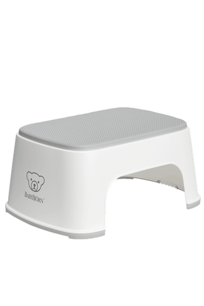 BabyBjorn Step Stool Σκαλοπάτι - White Grey