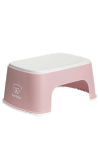 BabyBjorn Step Stool Σκαλοπάτι - Powder pink - White