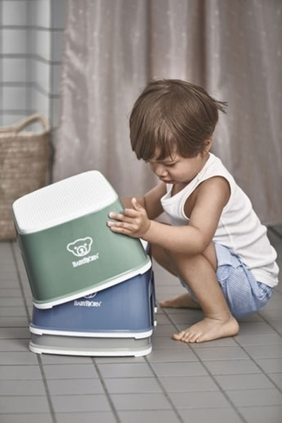 BabyBjorn Step Stool Σκαλοπάτι - Deep Green - White