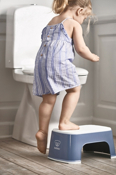 BabyBjorn Step Stool Σκαλοπάτι - Deep Blue - White
